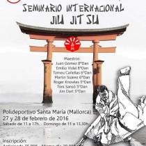 SEMINARIO INTERNACIONAL JIU JIT SU FEBRERO 2016
